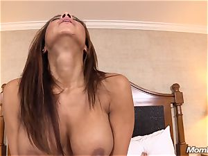 steamy Latina inexperienced cougar first timer