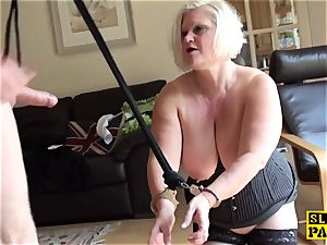 chubby british marionette dominated with roughsex