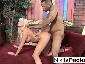 Nikita gets some interracial liking