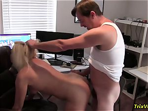tearing up the red-hot secretary