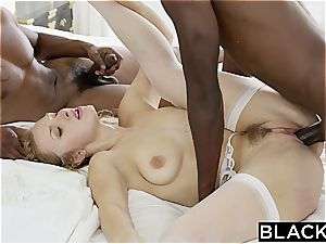 BLACKED wifey Layna Landry first multiracial threesome
