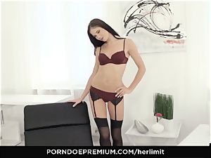 HER restrict - Lovenia Lux gonzo buttfuck pulverize and gape