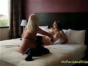 The motel room Strippers lovemaking with Ms Paris Rose