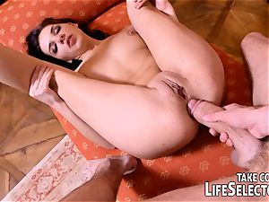 big-titted nymphs and naughty fellows in some steamy adventures