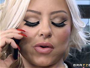 molten Headmistress Britney Shannon gets her mitts on a mischievous schoolgirl