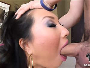 Asa Akiras dirty oral job