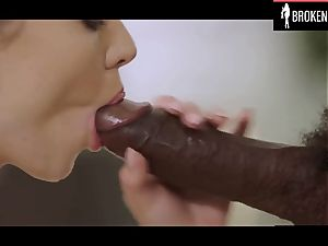 Haley gets her puss ruined by a bbc