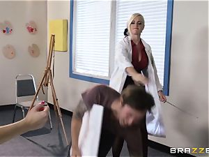 Ashley Fires and Alena Croft take charge and humilate him