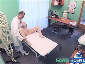 FakeHospital fantastic Aussie tourist with gigantic knockers