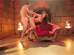 naughty Diablo with a ample hard trouser snake plumb asian sinner Asa Akira