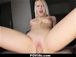 POVLife - wild cockslut Vanessa box Gets humped