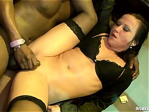 Bibi Fox lock fuckhole the key of a red-hot guys with mates