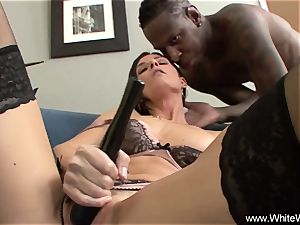 hitachi And big black cock For thin wife