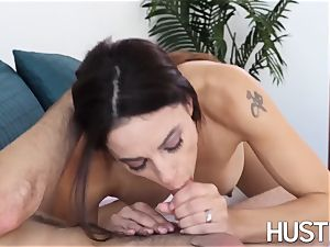 impressive mummy Eva long bouncing on mouth-watering nubile fuckpole
