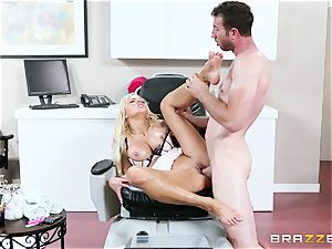 Nina Elle - grope my gams and do massage my poon