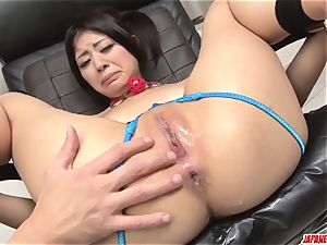 tough moments of assfuck gonzo with toys for Konatsu howdy
