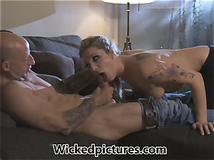 Rampant role play for Bailey Blue and a super-hot guy