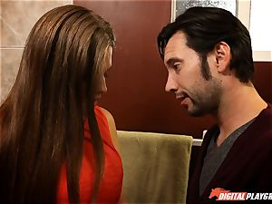 Allison Moore and Tommy Pistol bathroom penetrate
