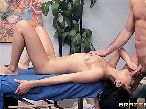 sensuous rubdown turns into a sensual shag