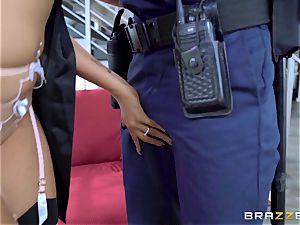 Romi Rain strange desire getting plumbed by the policeman