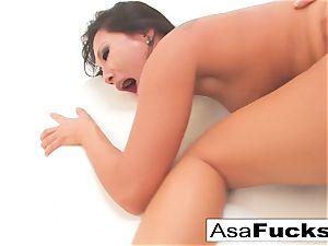 Asa's anal fisting and boning internal cumshot