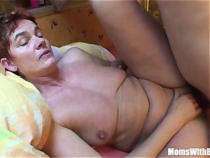 fatigued elder Mama Receives A rock-hard buttfuck treat