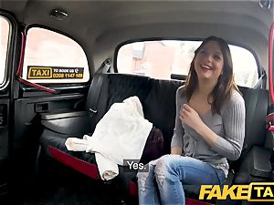 fake taxi hard boinking rocks taxi cab with tight beaver