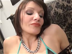 La Cochonne - Mature French unexperienced loves caboose going knuckle deep