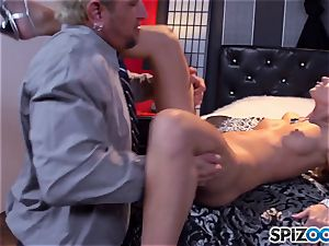 Jessa Rhodes saucy taut beaver is poked by a giant weenie