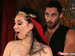 Arabian torrid sizzling slit delectations with Aria Alexander