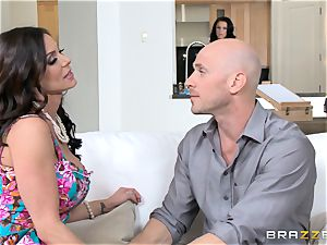 Kendra enthusiasm and Peta Jensen share their dude
