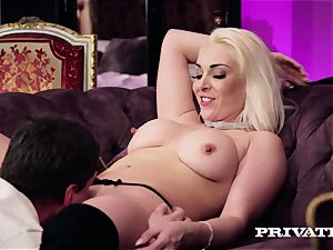 Private.com - big-titted Victoria Summers inhales and plumbs