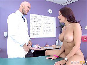 vag loving Rachel Starr gets a taste of big stiff dick