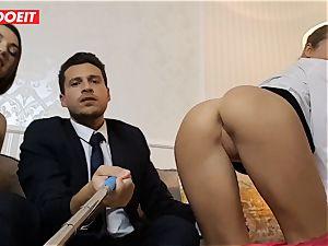 LETSDOEIT - crazy wifey Gets humped hard-core By Swingers