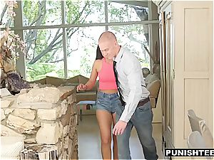 Shane Blair punished and forced to swallow