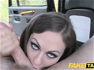 fake taxi Posh dolls swollen vagina and ass nailed