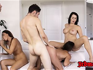 milf Mercedes Carrera riding trunk passionately in lovemaking