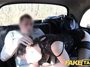 fake taxi Czech nymph covets a rigid man-meat