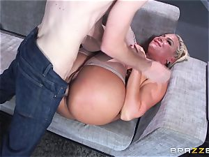 Phoenix Marie gets porked in the donk by fat dicked Danny D