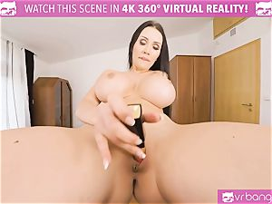 VR porn - Thanksgiving Dinner becomes a naughty 3some