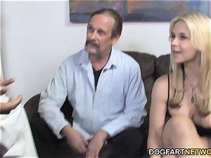 Sarah Vandella Takes big black cock ball-sac Deep - hotwife Sessions