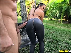Abigail Mac smashed in her taut gash