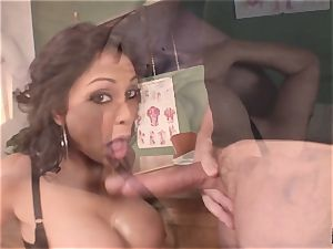 squealing and yelling Priya Rai popped in the honeypot by headteacher