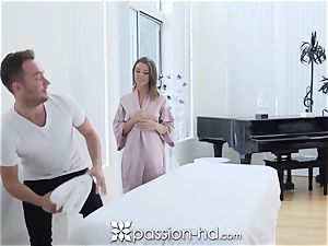 PASSION-HD dripping internal cumshot drill with Adriana Chechik