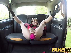 faux cab small Rhiannon Ryder enjoys inhale