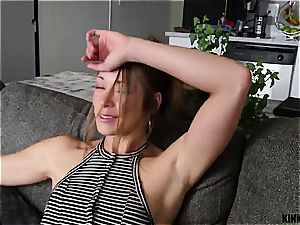 Blackmailed stepsis is left with shuddering quim