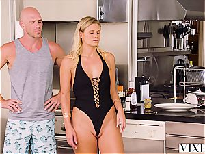 Johnny Sins gives 2 cool blondes multiple climaxes
