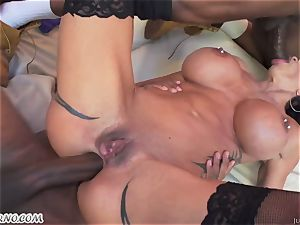 interracial gangbang with an yankee nymph love buttons Jade