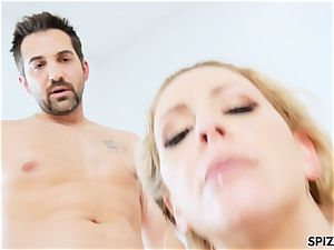 Spizoo - Step mommy Cherie Deville gets plumbed