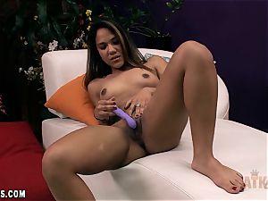 Selena Cruz takes a ample fucktoy